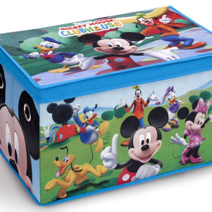 Delta Children Disney Mickey Mouse Toy Box, Right View a1a