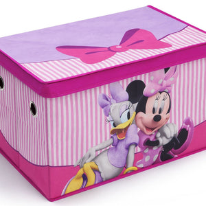 Delta Children Disney Minnie Mouse Toy Box, Right View a1a