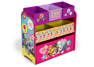 PAW Patrol, Skye & Everest Multi-Bin Toy Organizer, Right View a2a Skye and Everest (1122)