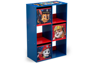 Delta Children Paw Patrol (1121) 6 Cubby Storage Unit (TB83390PW), Right View a1a