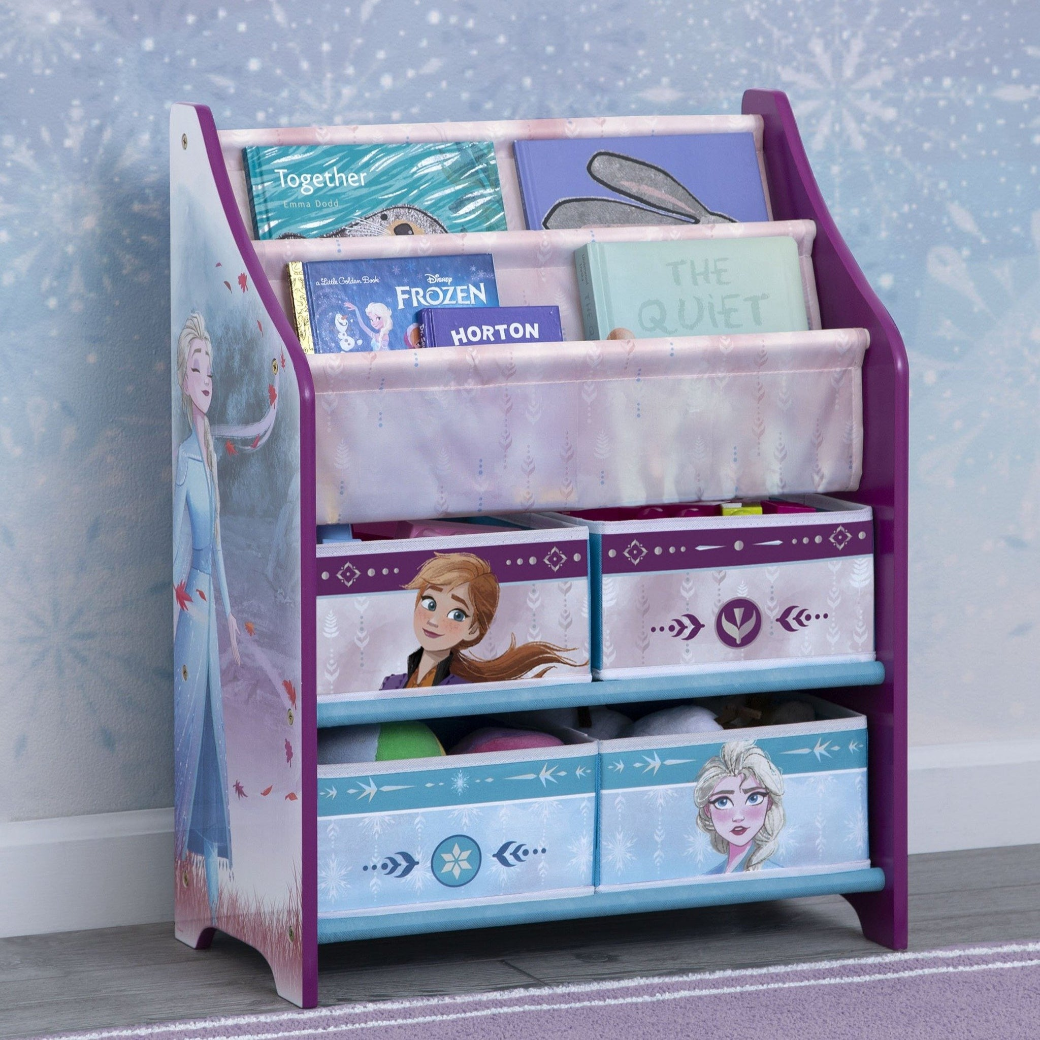 Frozen II Toy and Book Organizer