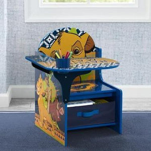 The Lion King Chair Desk With Storage Bin