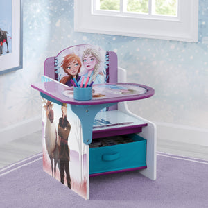 Delta Children Frozen 2 (1097) Chair Desk with Storage Bin, Hangtag View