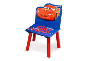 Delta Children Disney/Pixar Lightning McQueen Single Chair Left Side View a1a