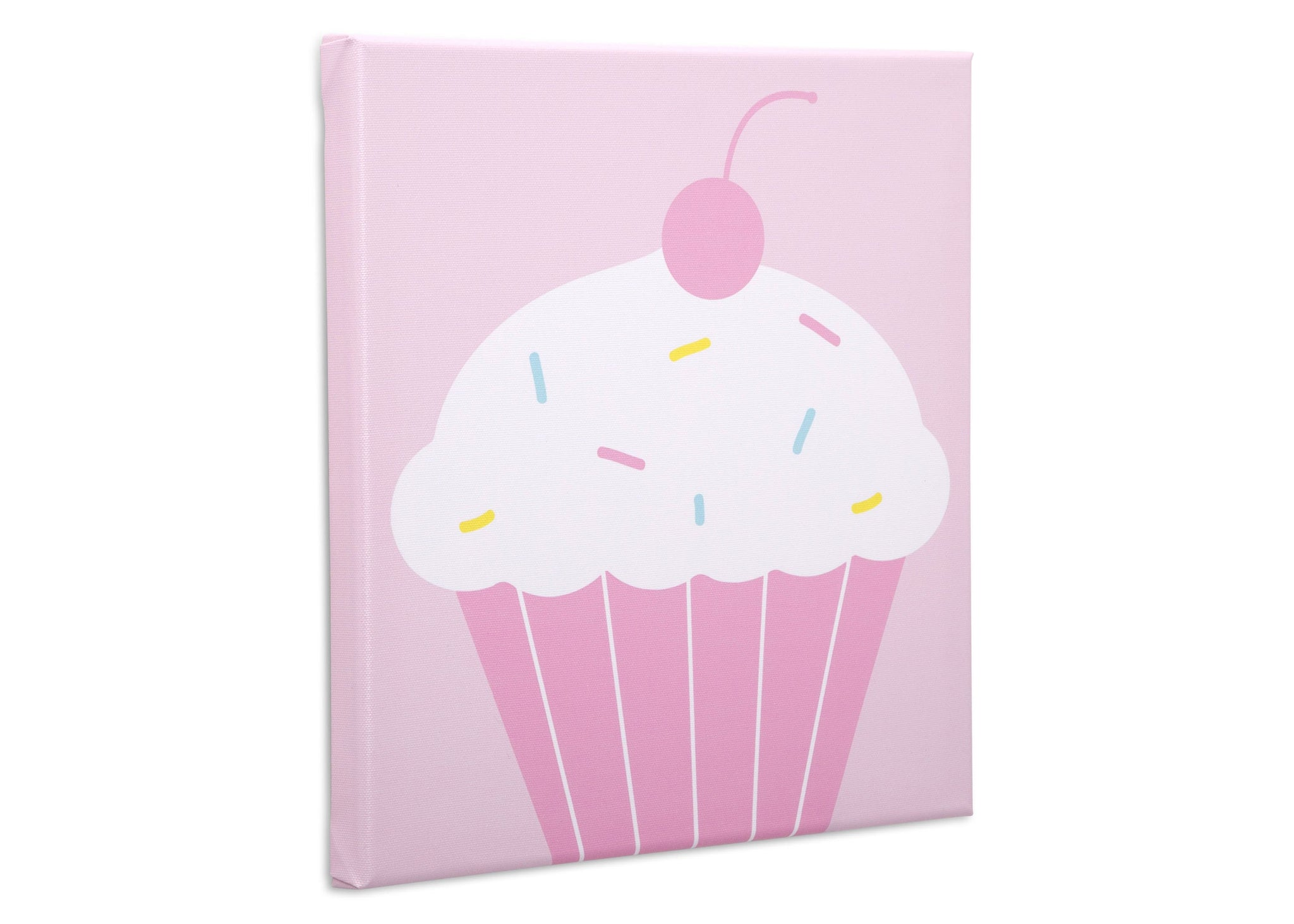 Delta Children Cake Pops (3012) 3-Piece Canvas Wall Art Set for Girls, Cupcake Silo View