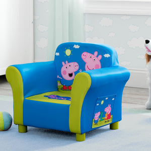 Delta Children Peppa Pig Upholstered Chair, Hangtag View