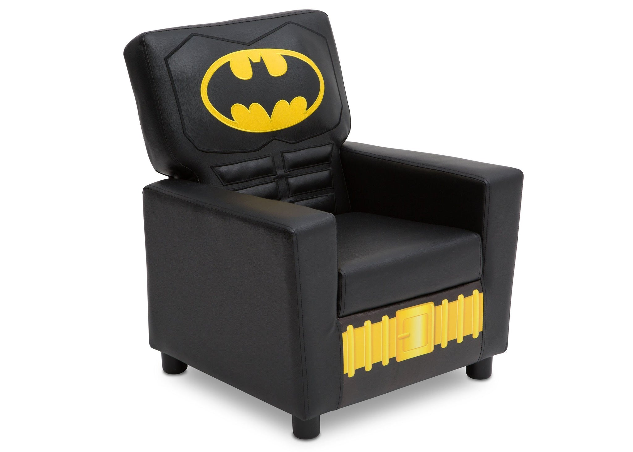 Delta Children DC Comics Batman (1200) High Back Upholstered Chair, Right Angle, a1a