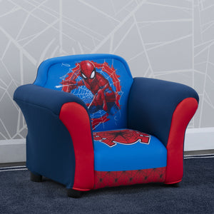 Spider-Man Upholstered Chair with Sculpted Plastic Frame