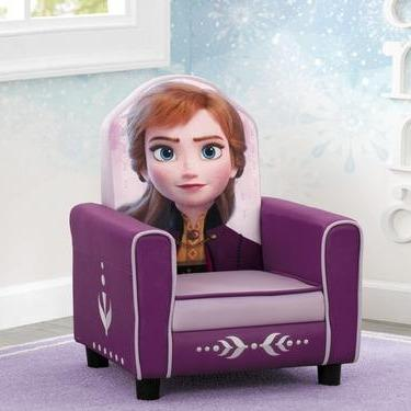 Frozen II Anna Figural Upholstered Kids Chair