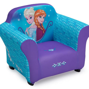 Delta Children Frozen Upholstered Chair, Right View a1a