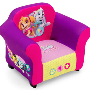 PAW Patrol, Skye & Everest Upholstered Chair, Right View a1a