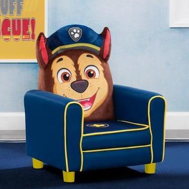 PAW Patrol Chase Figural Upholstered Kids Chair