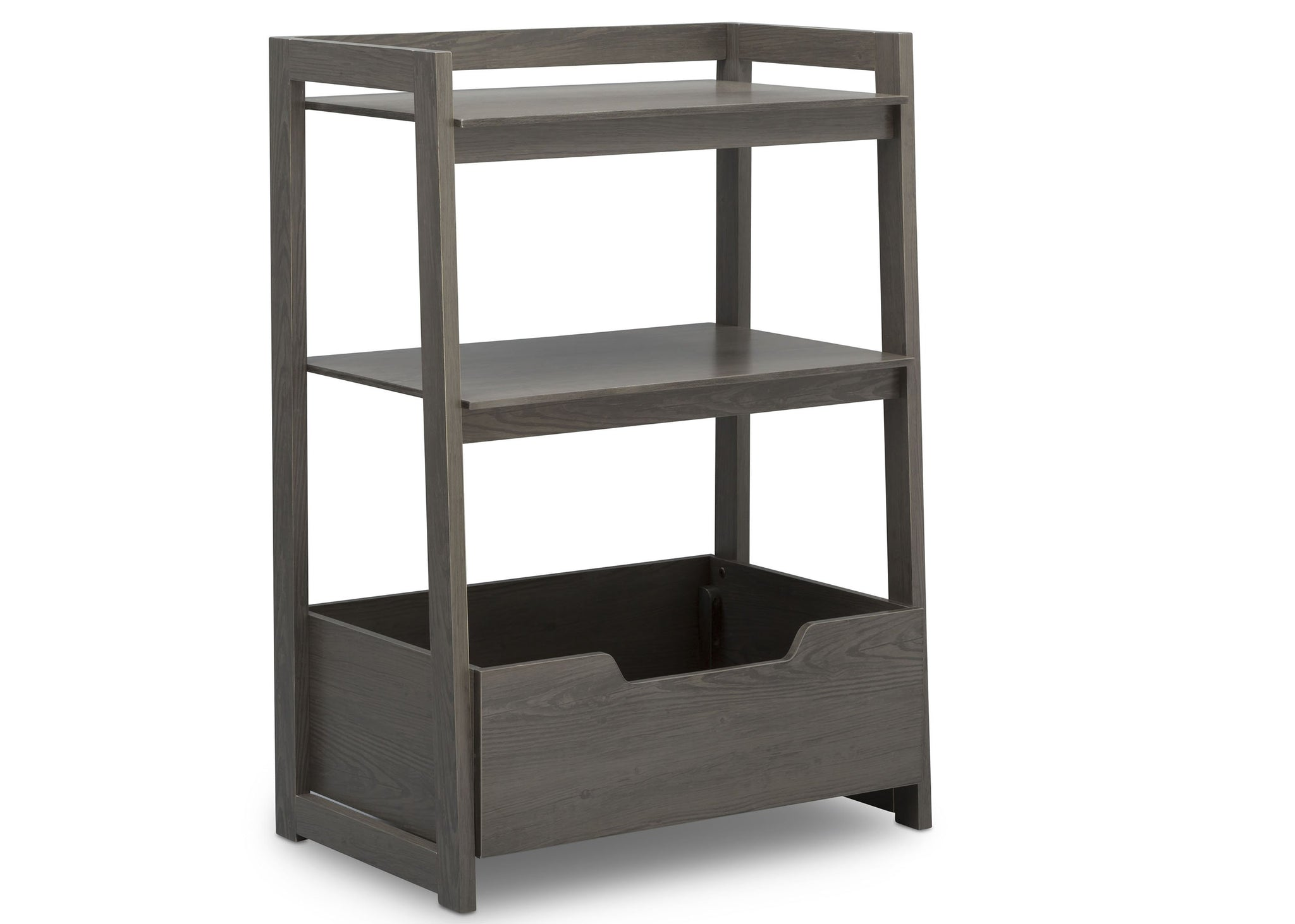 Delta Children Crafted Grey (1333) Gateway Small Laddershelf (W101452), Right Facing Silo, c2c