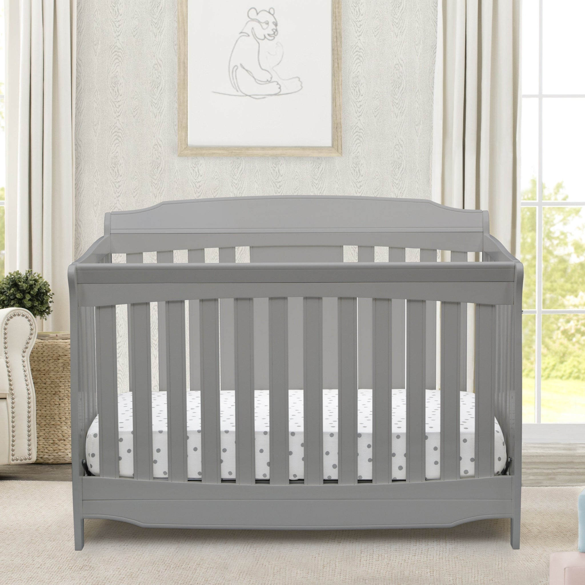 Westminster 6-in-1 Convertible Crib