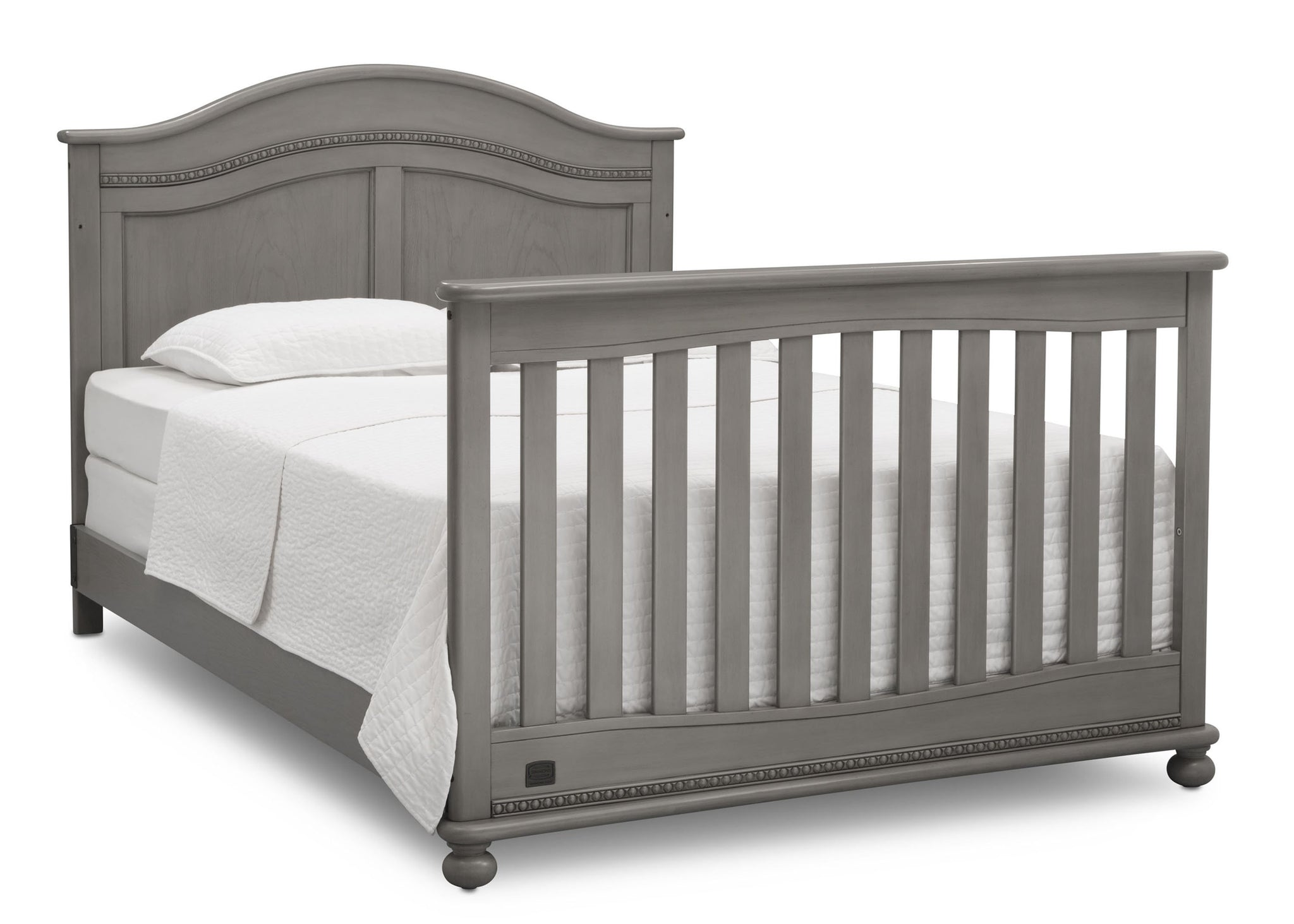 Simmons Kids Storm (161) Bedford 4-in-1 Convertible Crib (W337150), full bed, b6b