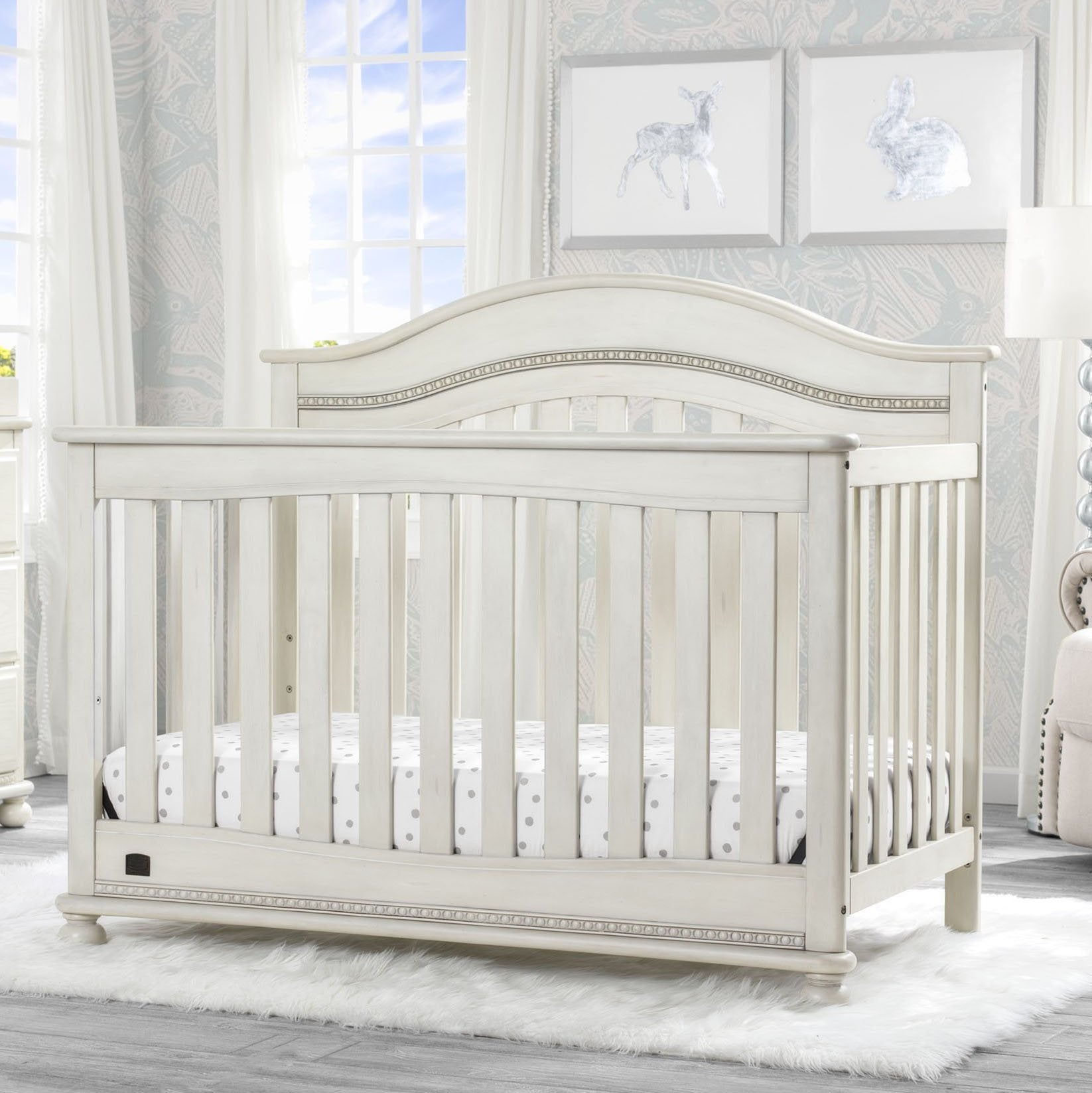 Bristol 4-in-1 Convertible Crib