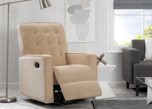Delta Home Sisal (727) Grant Glider Swivel Recliner, Home Reclined View