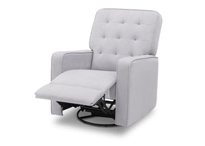 Delta Home Linen (150) Grant Glider Swivel Recliner, Left Reclined Silo View