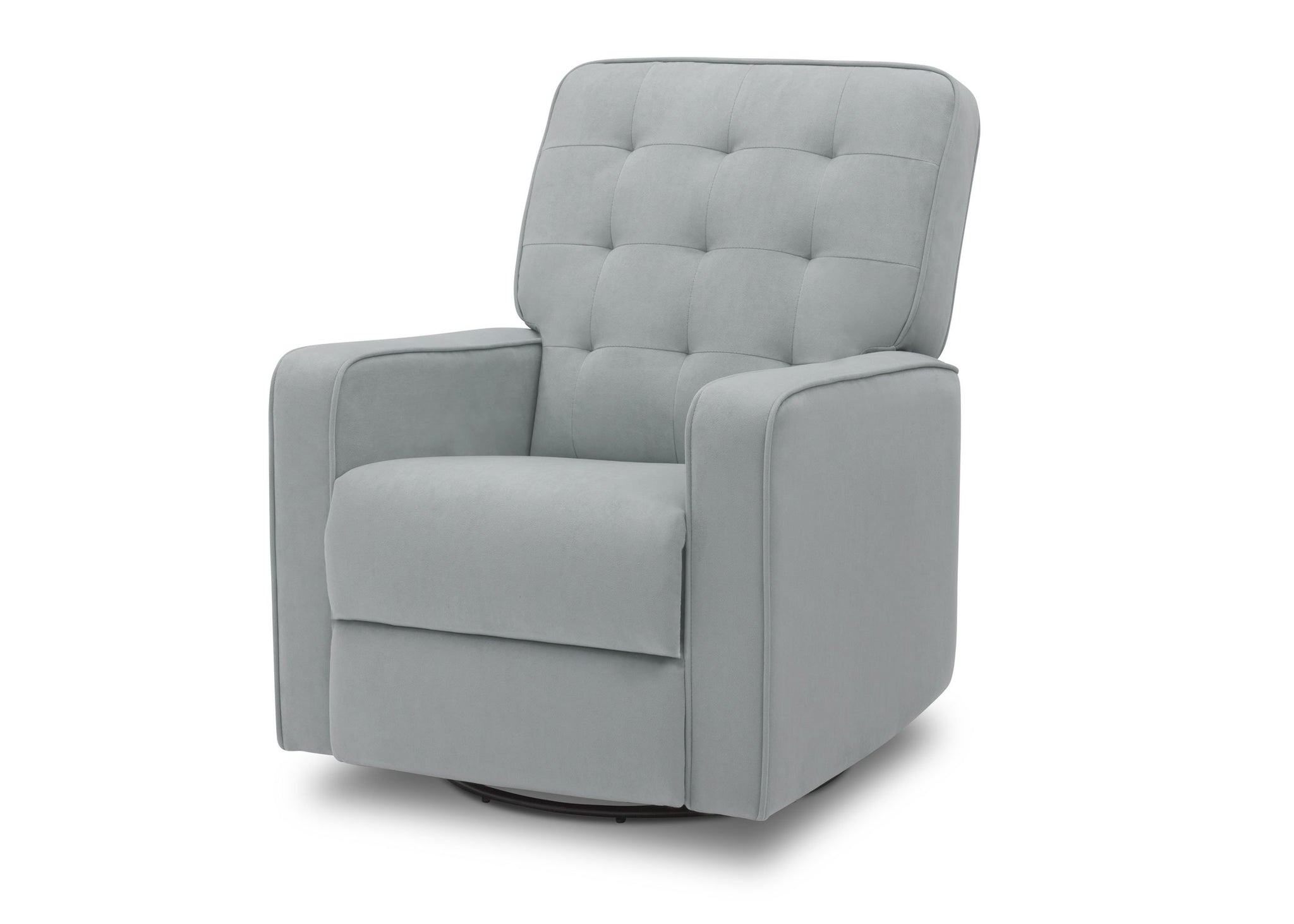 Delta Home Mist (934) Grant Glider Swivel Recliner, Left Silo View