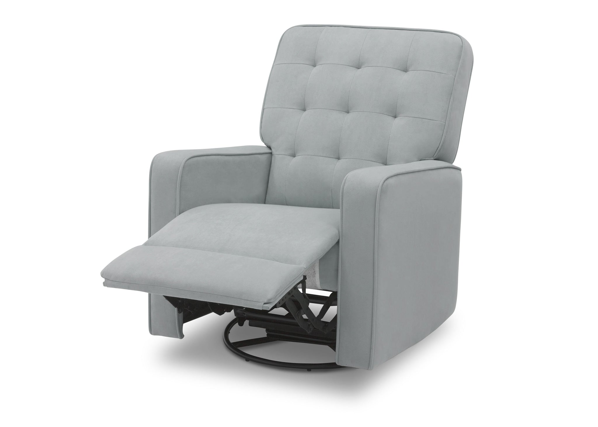 Delta Home Mist (934) Grant Glider Swivel Recliner, Left Reclined Silo View