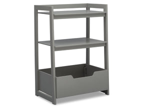 Delta Children Grey (026) Gateway Small Laddershelf (W101452), Right Facing Silo, a2a