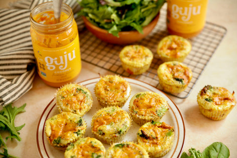 Indian fusion artisanal Frittata Muffins that are quick and easy for the whole family