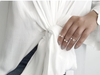 Pearl Cuff Midi Ring - JEWEL RUE  - 2