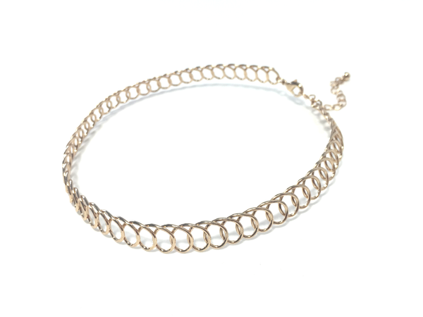 Weaved Wire Choker - JEWEL RUE  - 1