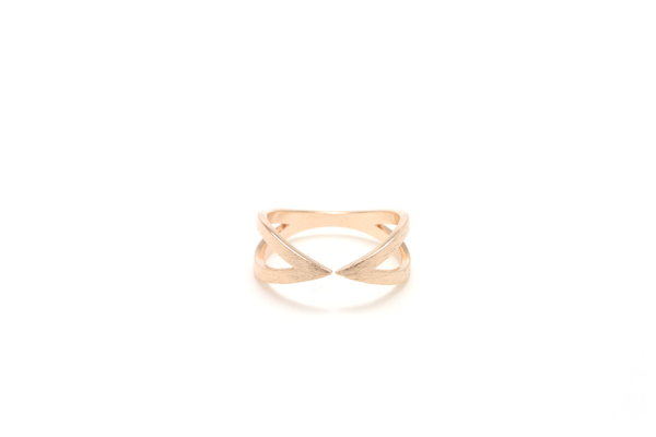 Crossover Ring - JEWEL RUE  - 1