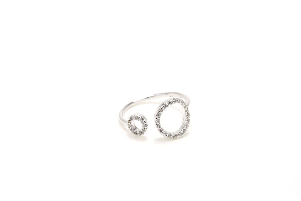 Halo Pave Ring - JEWEL RUE  - 1