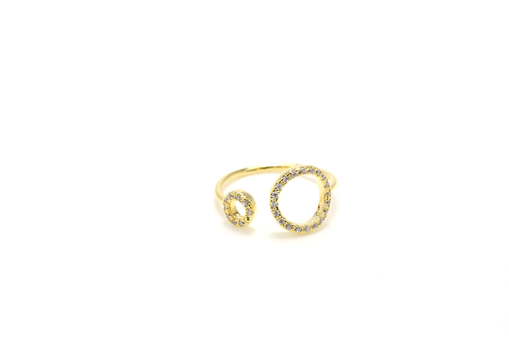 Halo Pave Ring - JEWEL RUE  - 3