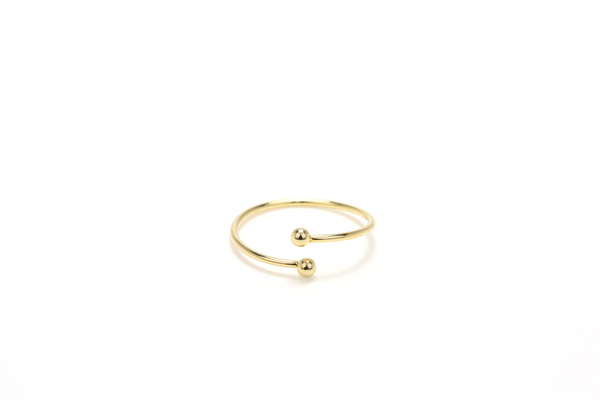 Dotted Line Ring - JEWEL RUE  - 1