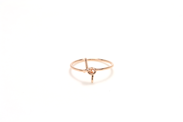 Tied-up Ring - JEWEL RUE  - 1