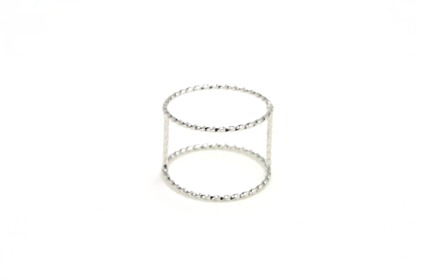 Twisted Wires Ring - JEWEL RUE  - 1