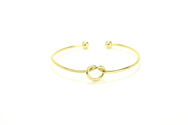 Love Knot Bangle - JEWEL RUE  - 1