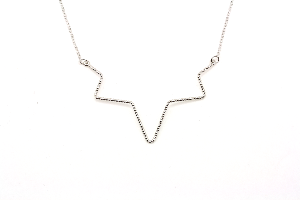 Twisted Wires Collar Necklace - JEWEL RUE  - 1
