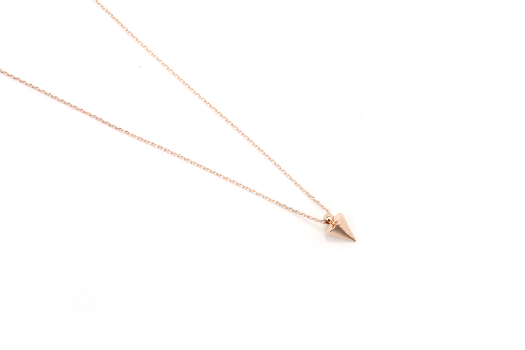 Spike Pendant Necklace - JEWEL RUE  - 1