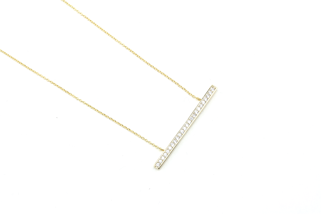 Glam Bar Necklace - JEWEL RUE  - 2