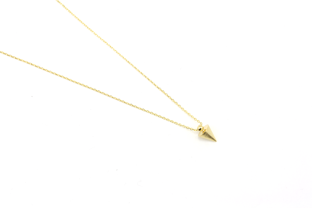 Spike Pendant Necklace - JEWEL RUE  - 3