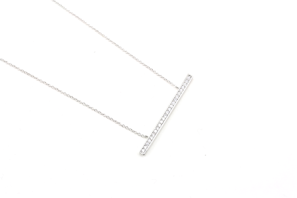 Glam Bar Necklace - JEWEL RUE  - 1