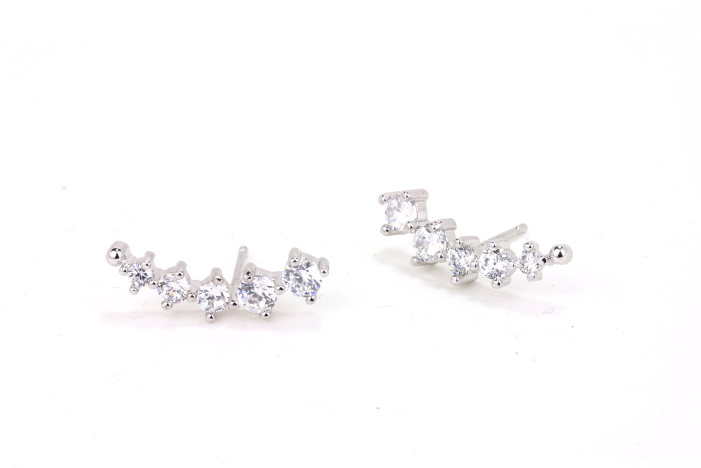 Tiered Crescent Ear Crawlers - JEWEL RUE  - 1
