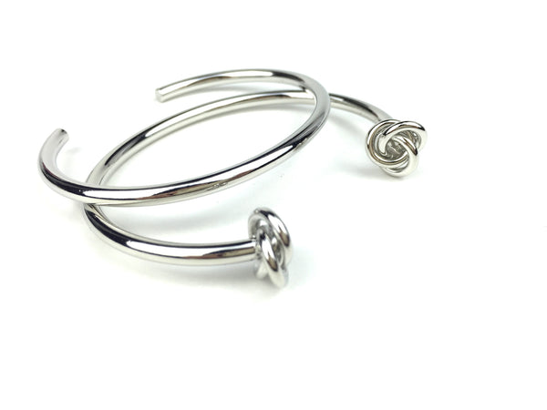 Double Knot Cuff Set - JEWEL RUE  - 1