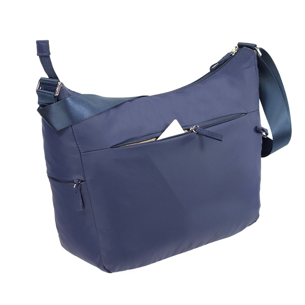 Cartera Move It Shoulder Bag M + 2 Pockets Azul Oscuro