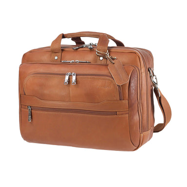 Maletín Scs Leather Business Vachetta Café 23,3 Lts