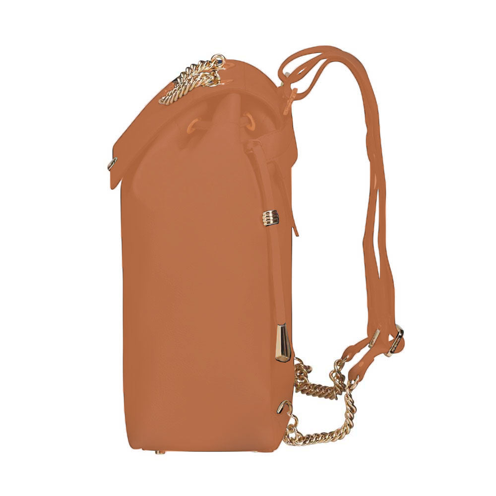 Cartera Satiny 2.0 Backpack Copper Blush Mediana 3,8 Lts