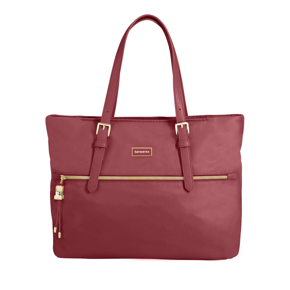Cartera Karissa Shopping Bag M Dark Bordeaux