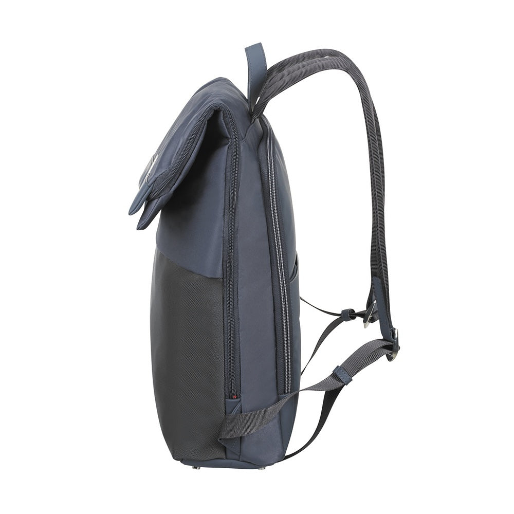 Mochila Pow-Her Backpack + Flap 14.1'' Cloudy Blue