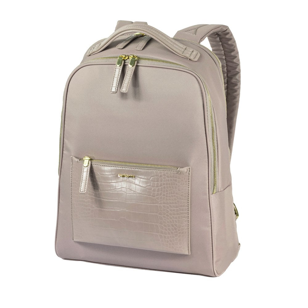"Mochila Zalia Backpack 14.1"" Cr Rose/Croco Print"