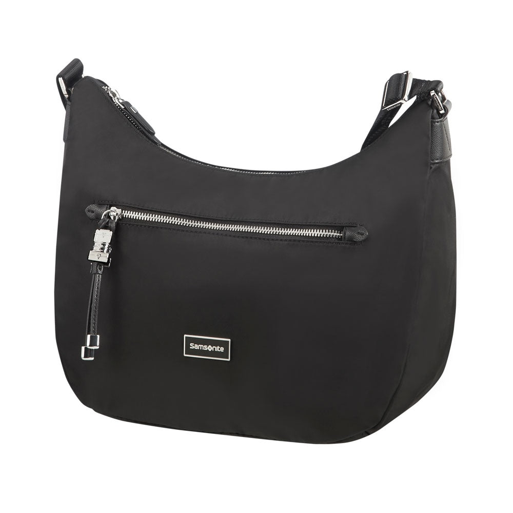 Cartera Karissa Hobo Bag M Black Mediana 2,36 Lts