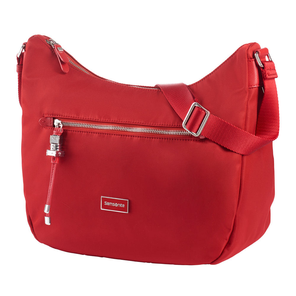 Cartera Karissa Hobo Bag M Formula Red Mediana 2,36 Lts